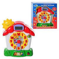 JT Игра 7007 (24шт) часы знаний, электронное табло, в кор-ке, 26-25-8см CV