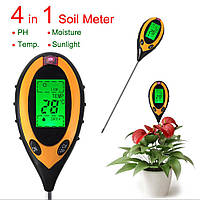 Профессиональный анализатор почвы 4 в 1 AMT-300