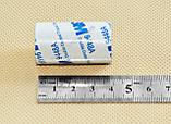 Термоскотч двухсторонний 3М 1м x 40мм скотч 9448А чёрный термостойкий для радиатора чипа, фото 2