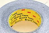 Термоскотч двухсторонний 3М 1м x 40мм скотч 9448А чёрный термостойкий для радиатора чипа, фото 5