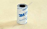 Термоскотч двухсторонний 3М 1м x 40мм скотч 9448А чёрный термостойкий для радиатора чипа, фото 4