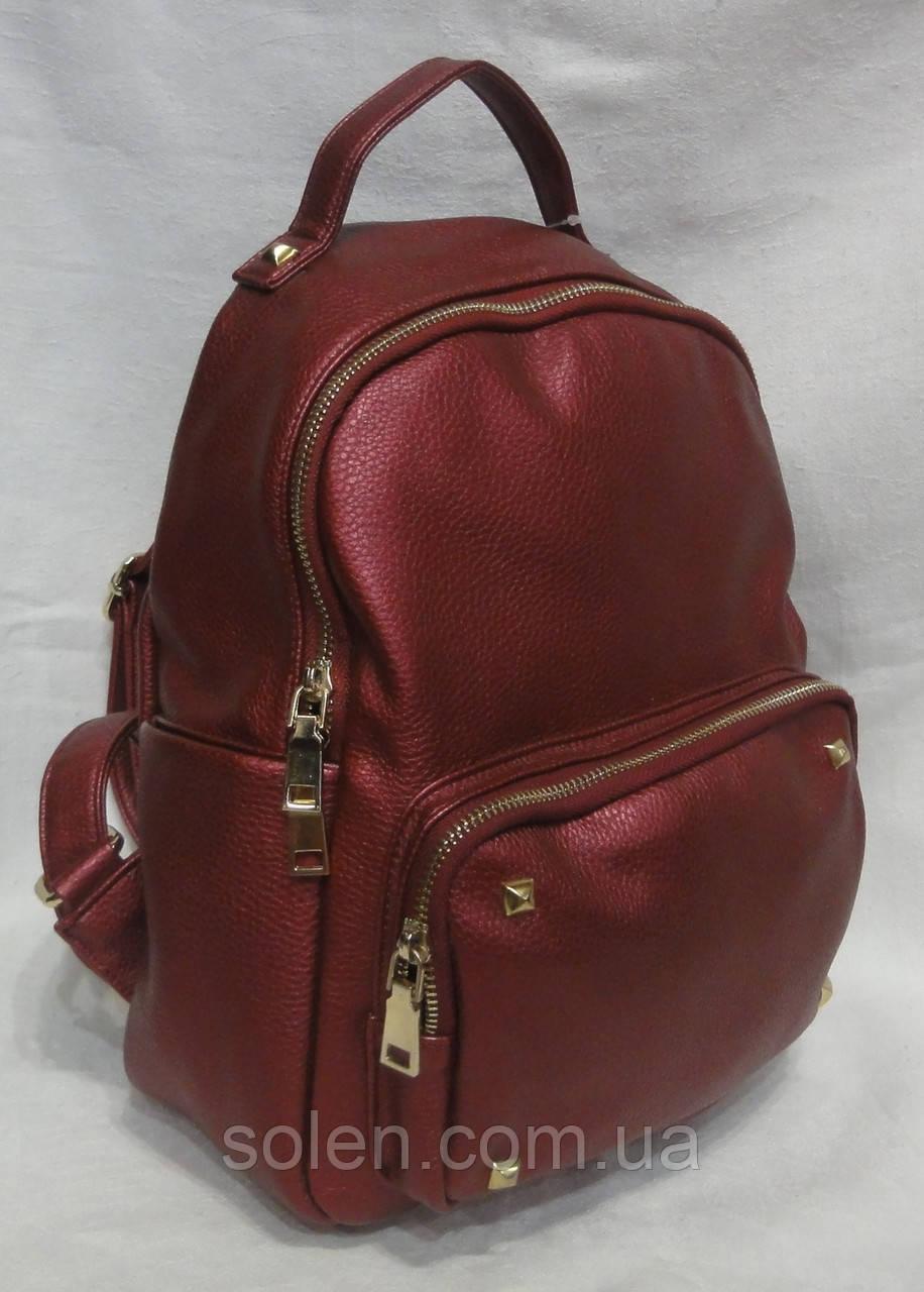 c668ccb1bac0 Молодёжный модный рюкзак из кожзаменителя.: продажа, цена в Харькове ...