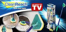 Щетка-швабра Clean Reach с тремя насадками!Опт, фото 3