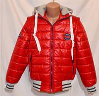 Куртка жилетка для мальчика и подростка р. 134 -152