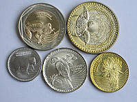 Колумбия 2012 5 монет фауна