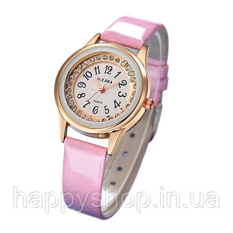 Женские кварцевые часы O.T.SEA (Розовые), фото 2