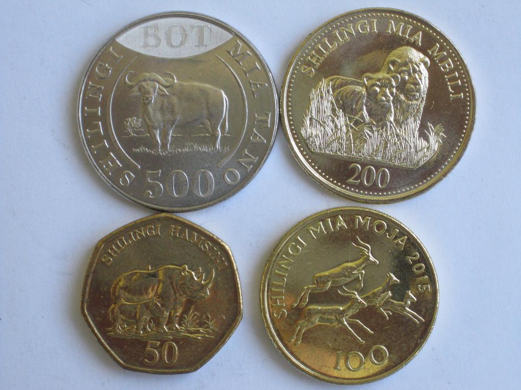 Танзанія 4 монети