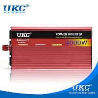 Преобразователь инвертор UKC 12v-220v AC/DC AR 4000W (10) Плавный пуск XXX