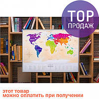 Скретч карта мира Travel Maps Gold