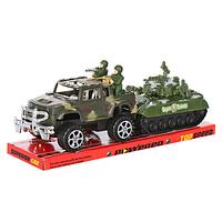 Военная машина 333  с прицепом с танком  32-11см ZM