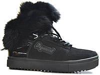 Зимние ботинки, натуральная кожа