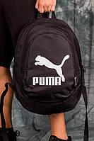 Черный модный рюкзак Puma