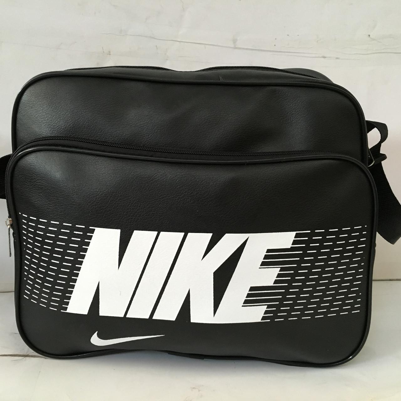 9c6becdb29180 Спортивная сумка Nike через плечо формат а4 черная оптом : продажа ...