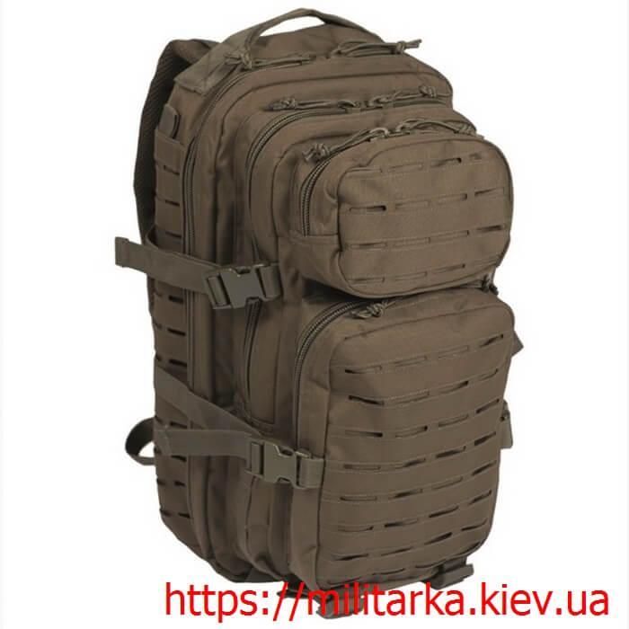 Рюкзак штурмовой Mil-Tec 20 л олива