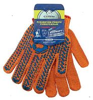 Перчатки рабочие трикотажные (без подвески) Сталь 21103