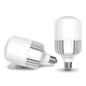 Два светодиодные промышленные лампы Е40 рядом