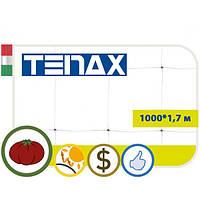 Шпалерная сетка HORTINET зеленая, 1000*1,7 м, TENAX (Италия)