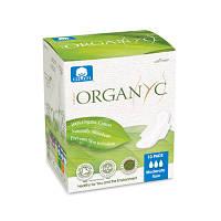 Гигиенические прокладки для умеренных выделений с крылышками, в индивидуальной упаковке Organ(y)c