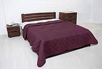 """Покрывало """"Vintag"""" Бордовый ромбами (двухспальный) 220*240см"""