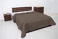 """Покрывало """"Vintag"""" Капучино ромбами (двухспальный) 220*240см"""