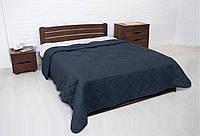 """Покрывало """"Vintag"""" Синий ромбами (двухспальный) 220*240см"""