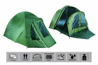 Палатка с тентом Fishing Tents HXT202+HXT202W