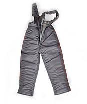"""Детский зимний костюм для мальчиков """"Город Orange"""", куртка+полукомбинезон, фото 3"""