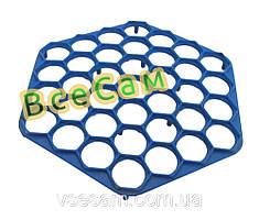 Пластиковая пельменница шестиугольная (форма для приготовления пельменей)