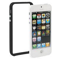 Чехол бампер TPU Like Strike для iPhone SE 5S 5 черный