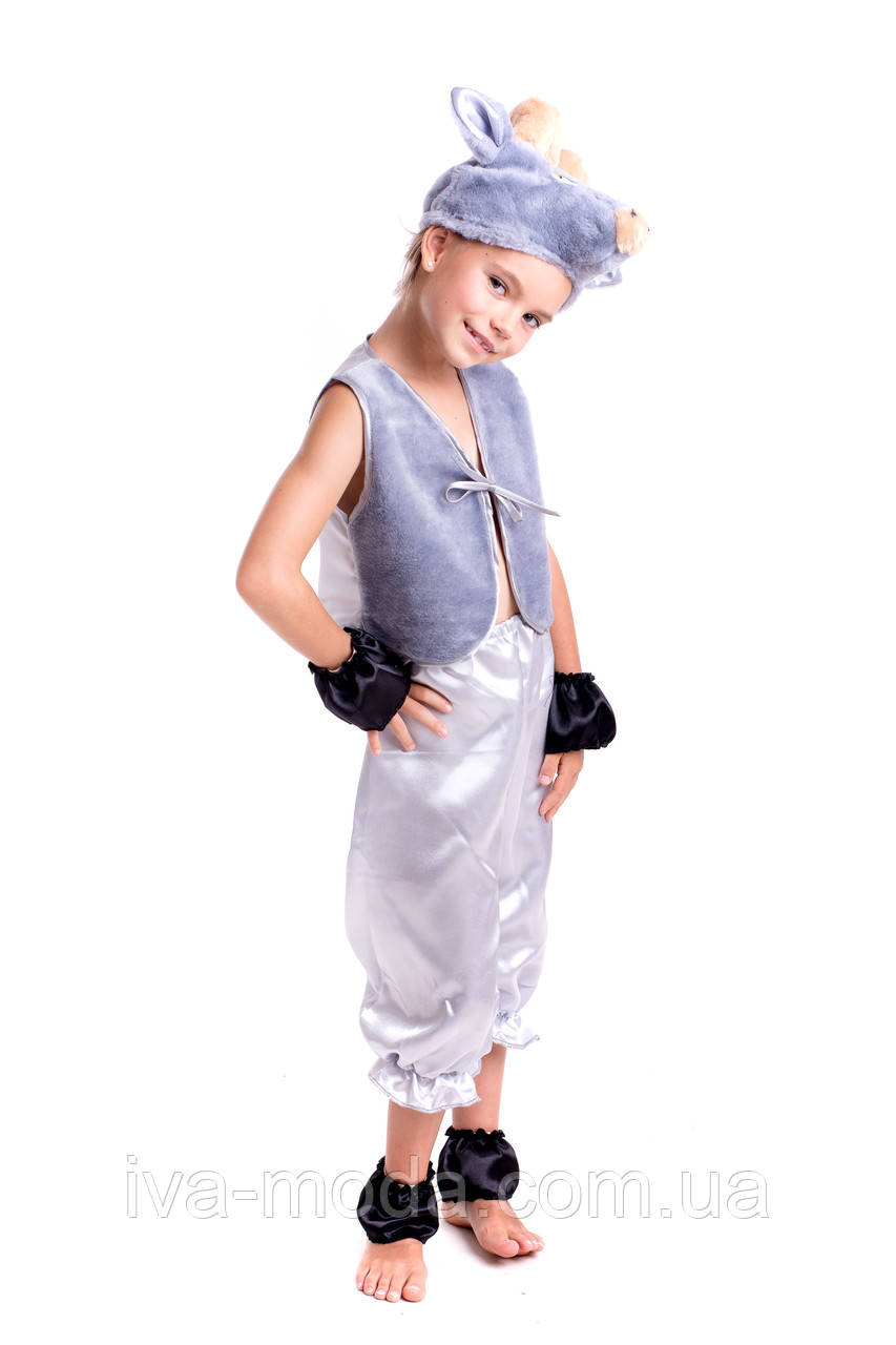 Детский новогодний костюм для мальчика козлика