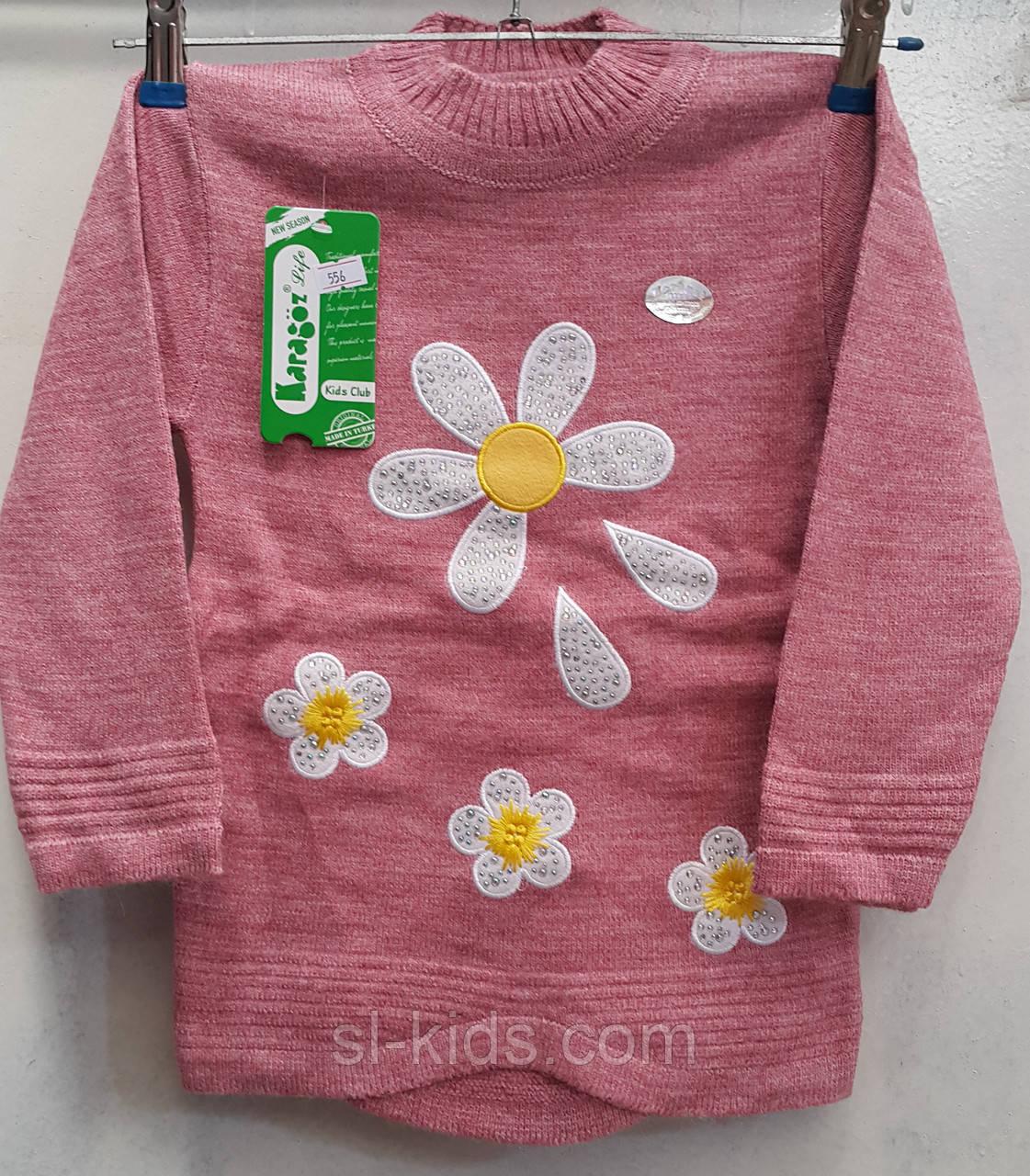 Туника вязка для девочки 4-9 лет (Karagaz 556)