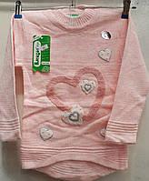 Туника вязка для девочки 4-9 лет (Karagaz 550)