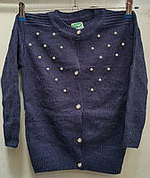 Кофта вязка для девочки 4-9 лет (Karagaz 591)