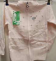 Кофта вязка для девочки 4-9 лет (Karagaz 581)