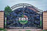 Кованые ворота в Днепре