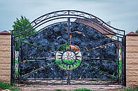 Кованые ворота в Днепре, фото 1