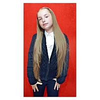 Кофта вязанная для девочек 9-15 лет