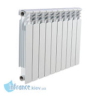 Биметаллический алюминиевый радиатор LEBERG HFS-500B (10 секций), фото 1