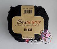 Пряжа Инка Фибранатура Inca Fibranatura, 43035, черный
