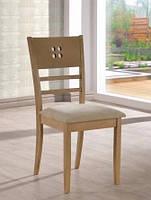 Деревянный стул, бежевый