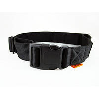Ошейник одинарный нейлоновый Collar Dog Extremе, регулируемый 15мм/23-35см. 01571 черный