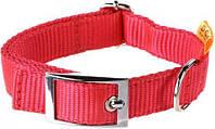 Ошейник нейлоновый Collar Dog Extremе, регулируемый с пряжкой 40мм/44-70см. 55823 красный