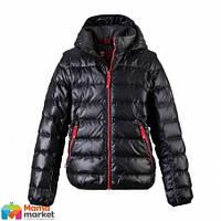 Куртка-жилет пуховик для мальчика зимняя Reima 531083, цвет 9990