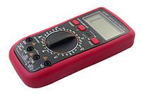 Цифровой тестер vc61, улучшенное качество щупов, подсветка экрана, прорезиненный защитный бампер