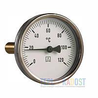 Afriso ВiTh 63 0-120 1/2 термометр биметаллический аксиальный (шток 45 мм)