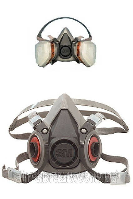 Напівмаски 3M™ 6100/6200/6300 Повні маски 3М™ 6700/6800/6900