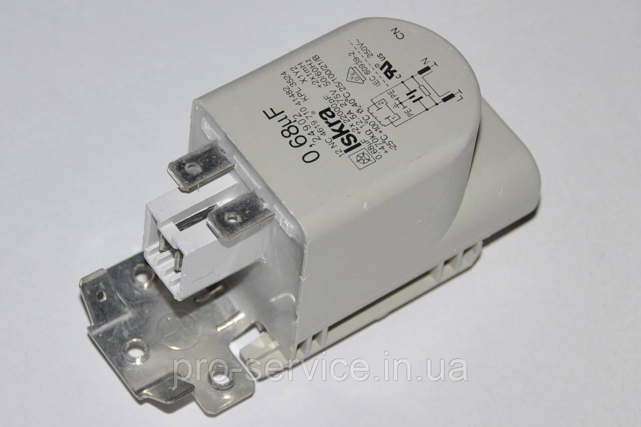 Сетевой фильтр 481212118279 для стиральных машин Whirlpool и мн. др.