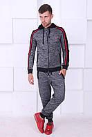 Спортивный костюм, серый,  Люкс качество, приятный к телу, фото 1