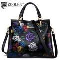 Женская кожаная сумка ZOOLER.