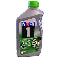 Масло моторное MOBIL 0W-20 1лит USA
